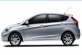 Costa Rica car rental - Toyota Hyundai Accent Hatchback
